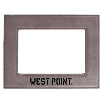 United States Military Academy-Velour Picture Frame 4x6-Grey