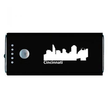 Quick Charge Portable Power Bank 5200 mAh - Cincinnati City Skyline