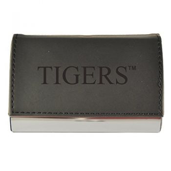 Velour Business Cardholder-Clemson University-Black