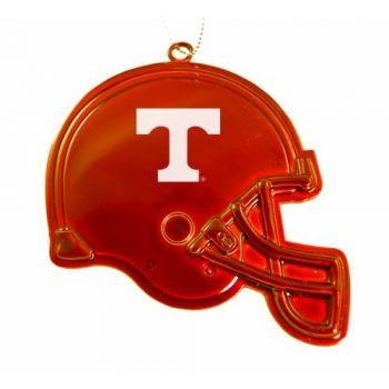 University of Tennessee - Christmas Holiday Football Helmet Ornament - Orange
