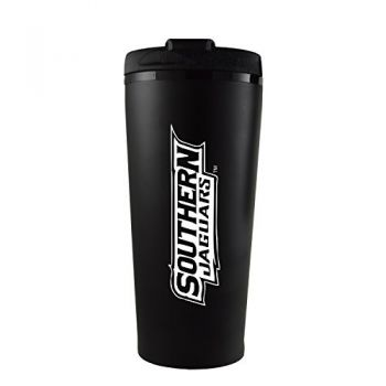Southern University -16 oz. Travel Mug Tumbler-Black