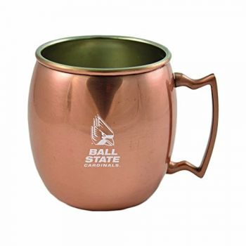 Ball State University-16 oz. Copper Mug