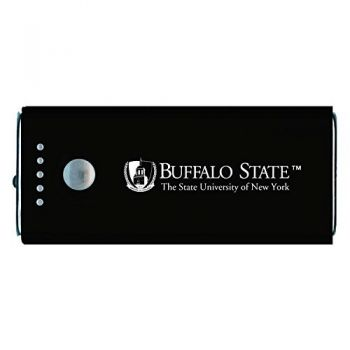 Buffalo State University - The State University of New York -Portable Cell Phone 5200 mAh Power Bank Charger -Black