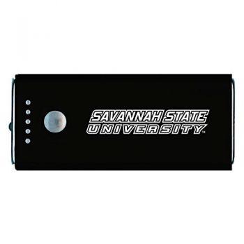 Savannah State University -Portable Cell Phone 5200 mAh Power Bank Charger -Black