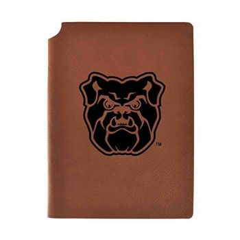 Butler University Velour Journal with Pen Holder|Carbon Etched|Officially Licensed Collegiate Journal|