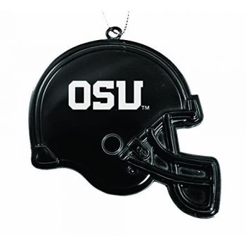 Oregon State University - Christmas Holiday Football Helmet Ornament - Orange