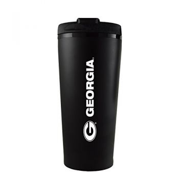 University of Georgia -16 oz. Travel Mug Tumbler-Black