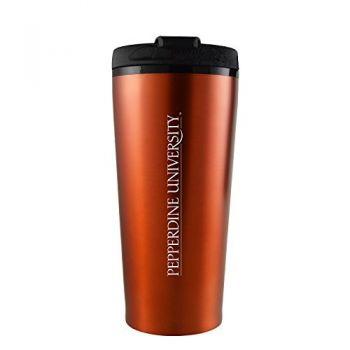 Pepperdine university -16 oz. Travel Mug Tumbler-Orange