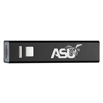 Alabama State University - Portable Cell Phone 2600 mAh Power Bank Charger - Black