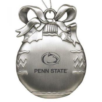 Penn State University - Pewter Christmas Tree Ornament - Silver