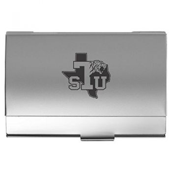 Texas Southern University - Pocket Business Card Holder