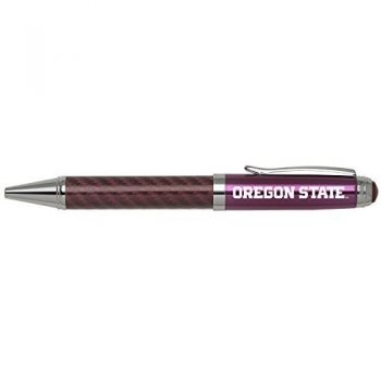 Oregon State University -Carbon Fiber Stylus Ballpoint Pen-Black