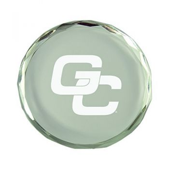 Georgia College-Crystal Paper Weight