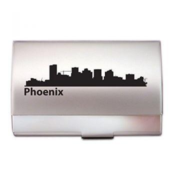 Business Card Holder Case - Phoenix City Skyline