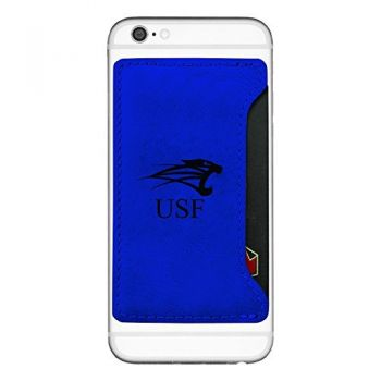 University of Saint Francis-Fort Wayne-Cell Phone Card Holder-Blue