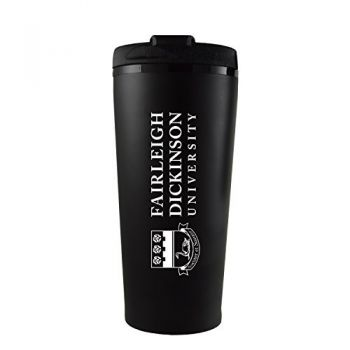 Fairleigh Dickinson University -16 oz. Travel Mug Tumbler-Black