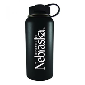 University of Nebraska-32 oz. Travel Tumbler-Black