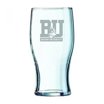 Boston University-Irish Pub Glass