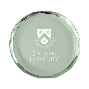 Columbia University-Crystal Paper Weight