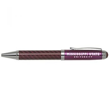 Mississippi State University -Carbon Fiber Mechanical Pencil-Pink
