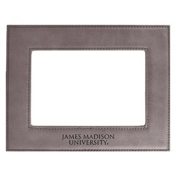 James Madison University-Velour Picture Frame 4x6-Grey
