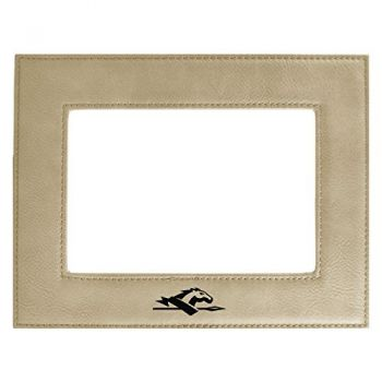 Longwood University-Velour Picture Frame 4x6-Tan