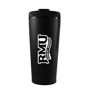 Robert Morris University -16 oz. Travel Mug Tumbler-Black