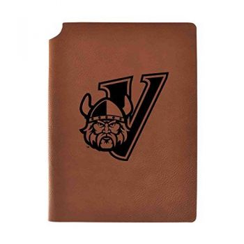 Cleveland State University Velour Journal with Pen Holder|Carbon Etched|Officially Licensed Collegiate Journal|