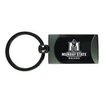 Murray State University -Two-Toned Gun Metal Key Tag-Gunmetal