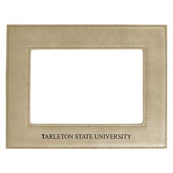 Tarleton State University-Velour Picture Frame 4x6-Tan