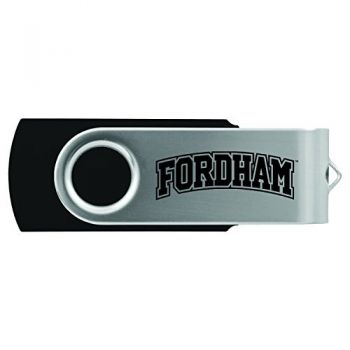 Fordham University-8GB 2.0 USB Flash Drive-Black