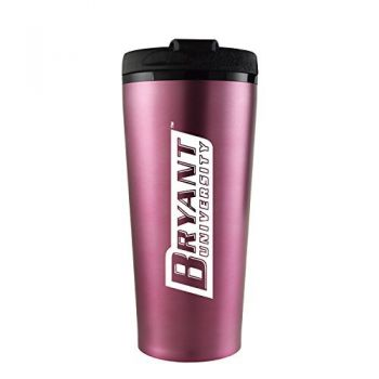 Bryant University -16 oz. Travel Mug Tumbler-Pink