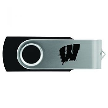 University of Wisconsin -8GB 2.0 USB Flash Drive-Black