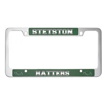 Stetson University -Metal License Plate Frame-Green