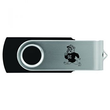 South Carolina State University -8GB 2.0 USB Flash Drive-Black