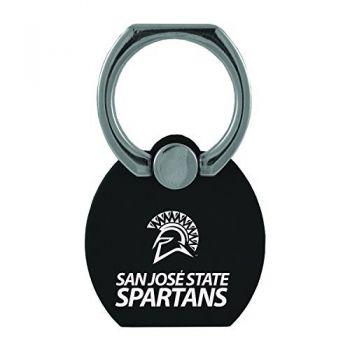 San Jose State University|Multi-Functional Phone Stand Tech Ring|Black