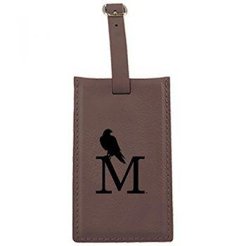 University of Montevallo-Leatherette Luggage Tag-Brown