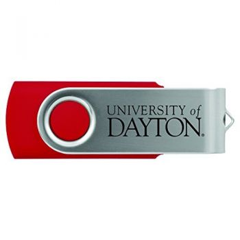 University of Dayton -8GB 2.0 USB Flash Drive-Red