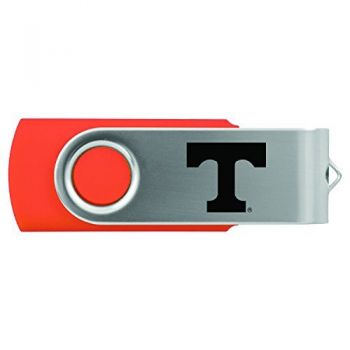 University of Tennessee -8GB 2.0 USB Flash Drive-Orange