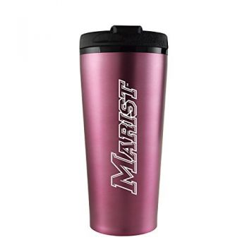 Marist College-16 oz. Travel Mug Tumbler-Pink