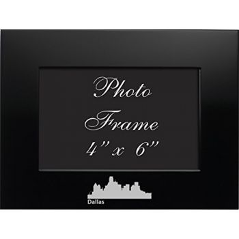 4 x 6  Metal Picture Frame - Dallas City Skyline