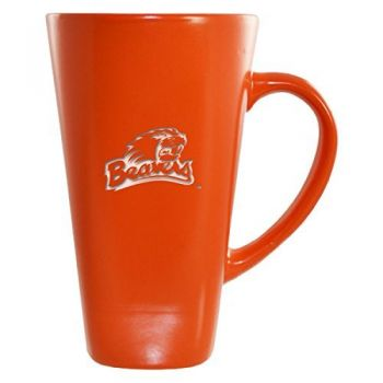 Oregon State University -16 oz. Tall Ceramic Coffee Mug-Pink