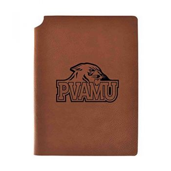 Prairie View A&M University Velour Journal with Pen Holder|Carbon Etched|Officially Licensed Collegiate Journal|