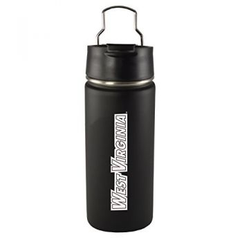 West Virginia University -20 oz. Travel Tumbler-Black