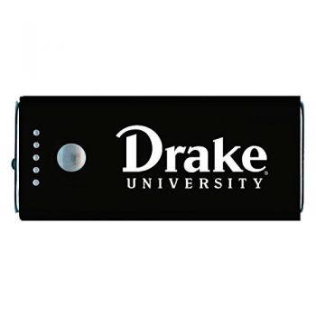 Drake University-Portable Cell Phone 5200 mAh Power Bank Charger -Black