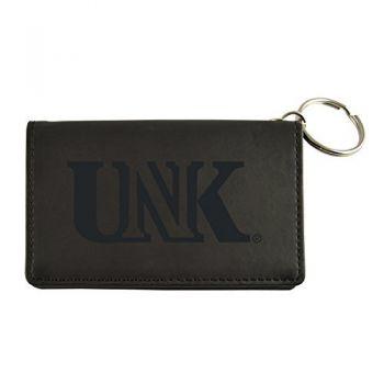 Velour ID Holder-University of Nebraska at Kearney-Black