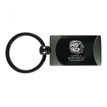 Loyola Marymount University -Two-Toned Gun Metal Key Tag-Gunmetal