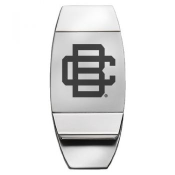 Bethune - Two-Toned Money Clip - Silver