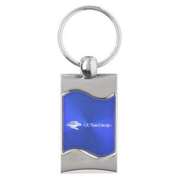University of California - San Diego - Wave Keytag - Blue