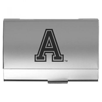 United States Military Academy at West Point - Two-Tone Business Card Holder - Silver